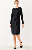 J. Jill Wearever Tie-Front Dress