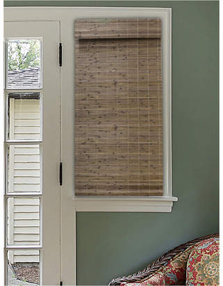 """Radiance Cordless Bamboo Dockside Privacy Weave Roman Shade, 48"""" x 64"""""""