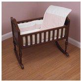 Baby Doll Bedding Kingdom Port-a-Crib Bedding Set - Pink