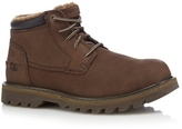 Caterpillar Brown Leather Chukka Boots