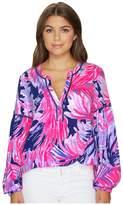 Lilly Pulitzer Kalissa Knit Tunic Women's Blouse