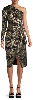 Altuzarra Silk-Blend Faux Wrap Dress