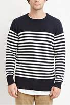 Forever 21 Striped Cotton Sweater