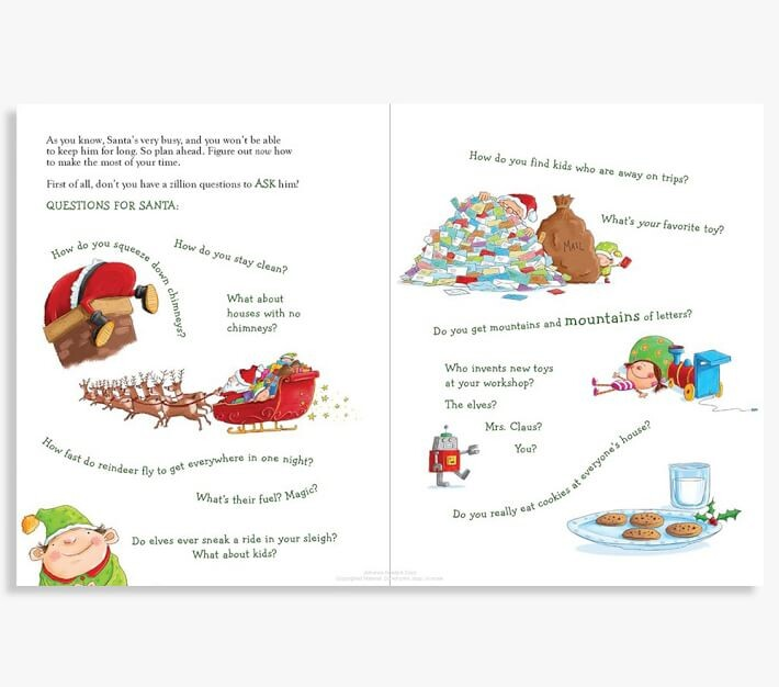 Thumbnail for your product : Pottery Barn Kids How To Catch Santa Book
