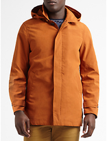 Scotch & Soda Classic Removable Hood Parka, Rust