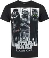 Star Wars Rogue One Character Panels Men's T-Shirt (XXL)