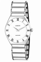 Jowissa Women's J4.102.L Costa Stainless Steel White Porcelain Roman Numeral Watch