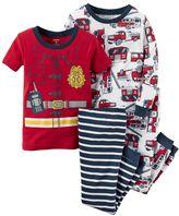 Carter's Baby Boy 4-pc. Print Pajama Set