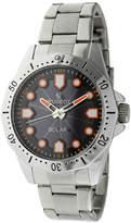 Peugeot Mens Silver Tone Bracelet Watch-1021