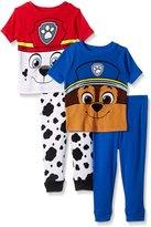 Nickelodeon Boys' Paw Patrol Cotton Pajama Set