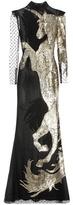 Alexander McQueen Sequinned Tulle Gown