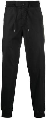 Emporio Armani Drawstring Waist Track Trousers