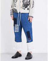 Loewe Loose-fit Patchwork Jeans
