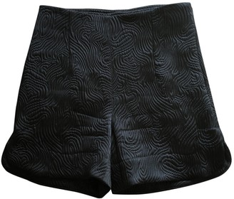 Patrizia Pepe Black Cloth Shorts for Women