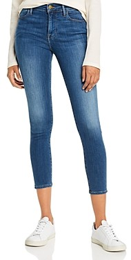 Frame Le High Skinny Crop Jeans in Sulham