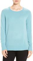 Halogen Crewneck Lightweight Cashmere Sweater (Petite)