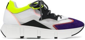 Vic Matié colour block low-top sneakers