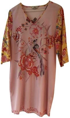 Charlotte Sparre Pink Silk Dress for Women