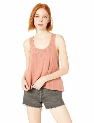 O'Neill Women's Conner Knit Tank with Embroidery
