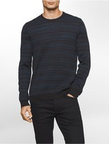 Calvin Klein Space Dyed Merino Blend Sweater
