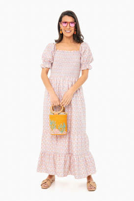 ENGLISH FACTORY Floral Fleetwood Maxi Dress