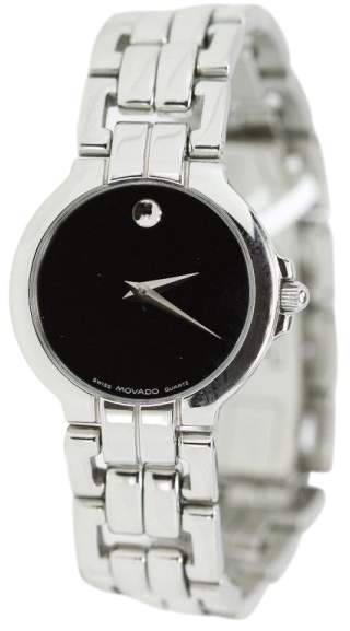 Movado Stainless Steel Ladies Museum Watch