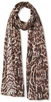Roberto Cavalli Women's Feather Silk Scarf