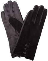 Condura NEW Suede and Leather Gloves Black M/L