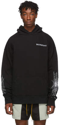 Rhude SSENSE Exclusive Black Soho House Edition Im Not Going Home Hoodie