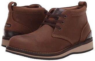 Cobb Hill Prestige Point Work Steel Toe (Beeswax) Men's Shoes