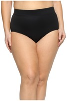Miraclesuit Plus Size Solid Basic Brief Bottom