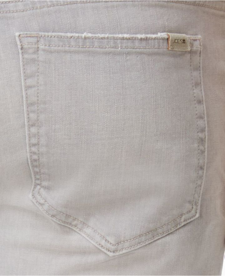 Joe's Jeans Men's Wraith Kinetic Slim-Fit Stretch Destroyed Bleached Grey Jeans