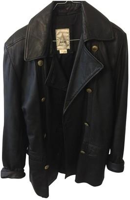 No Name Black Leather Jacket for Women Vintage