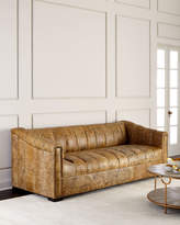 Old Hickory Tannery Surrey Channel-Tufted Sofa