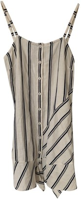AYR White Linen Dress for Women