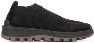 Etro paisley piqué sneakers