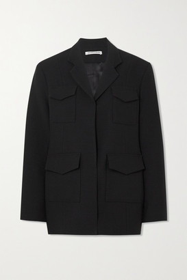 Georgia Alice Jimmy Woven Blazer - Black