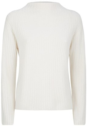 Vince Wool-Cashmere Ribbed Sweater