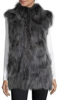 Pologeorgis Coyote Fur Patch Vest