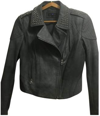 GUESS Grey Leather Jacket for Women