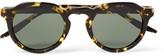 Barton Perreira Ascot Round-Frame Tortoiseshell Acetate Sunglasses