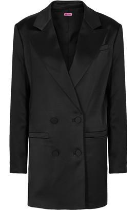 GAUGE81 Black Satin Blazer