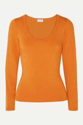 Leset French Terry Top - Orange