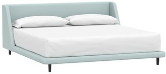 Pottery Barn Teen Mod Wingback Upholstered Bed