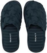 Gant Velour Star Slippers - Women One Size - Yankee Blue
