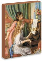 """Bed Bath & Beyond Renoir """"Two Young Girls at the Piano"""" Gallery Wrap Canvas Print"""