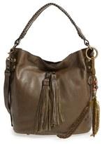 Patricia Nash 'Otavia' Leather Bucket Bag - Green