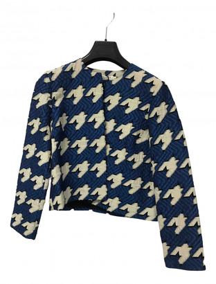 Roseanna Blue Wool Jackets