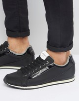 Versace Jeans Runner Trainers In Black
