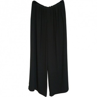 Band Of Outsiders Black Trousers for Women